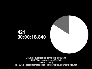 DASH Sequences   GPAC